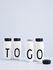 Bouteille isotherme A-Z / 500 ml - Lettre U - Design Letters