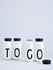 Bouteille isotherme Arne Jacobsen / 500 ml - Lettre U - Design Letters
