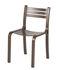 Chaise empilable Gabi / Hêtre téinté - Objekto