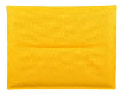 Coussin d'assise / Pour chaise Bistro - Fermob jaune en tissu