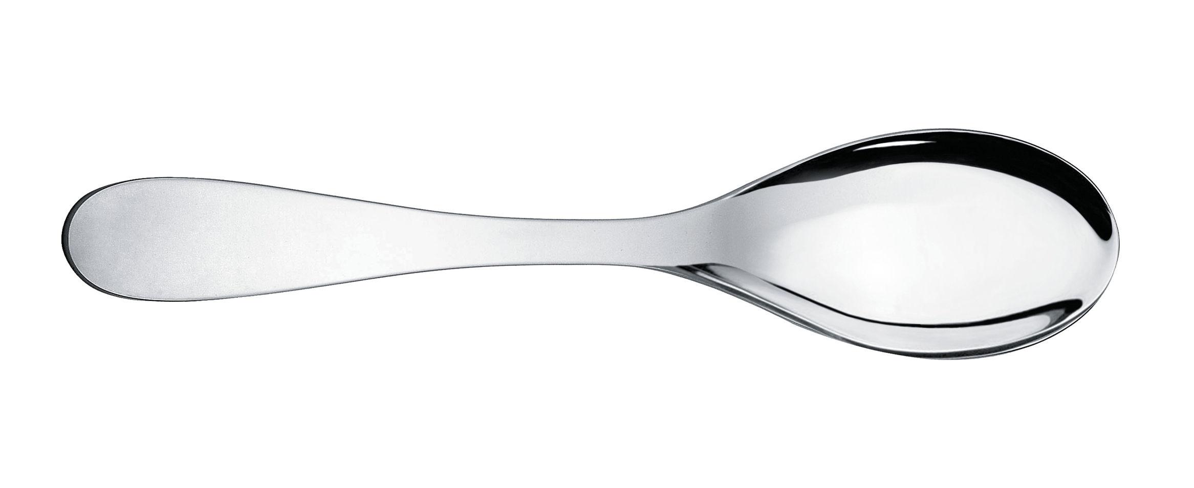 Arts de la table - Couverts de service - Cuillère de service Eat.it - Alessi - Métal brillant - Acier inoxydable 18/10