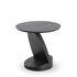 Oblic End table - / Teak - Ø 52 cm by Ethnicraft
