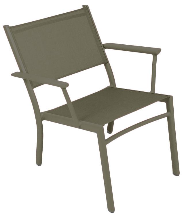 fauteuil bas costa savane fermob. Black Bedroom Furniture Sets. Home Design Ideas