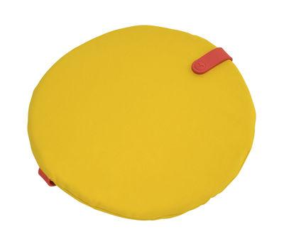 Galette de chaise Color Mix / Ø 40 cm - Fermob capucine,jaune toucan en tissu
