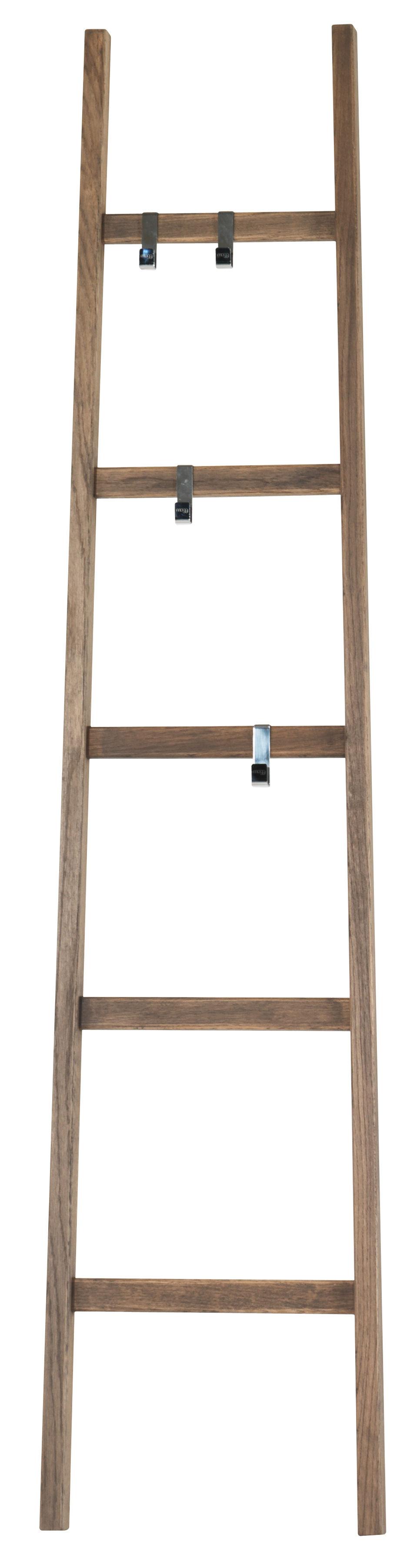 Furniture - Illuminated Furniture & Light UP Tables - Alla Scala Luminous coat rack - / LED included - H 190 cm by Mogg - Scale / Ash - Ashwood, Polished steel