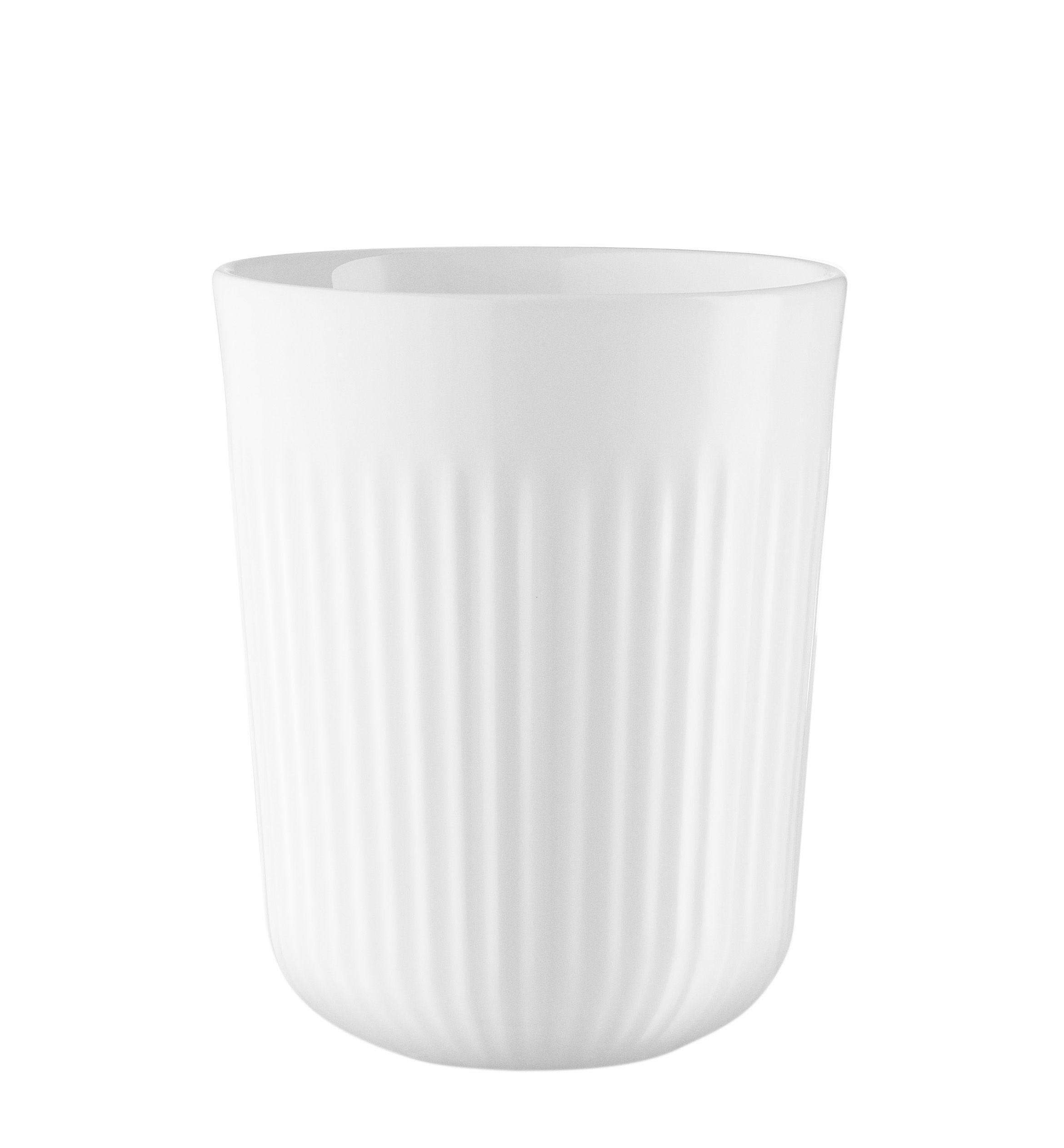 Arts de la table - Tasses et mugs - Mug isotherme Legio Nova / 31 cl - Eva Trio - Blanc - Porcelaine