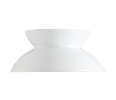 Illuminazione - Lampadari - Paralume - intercambiabile / Per sospensione Doo-Wop di Louis Poulsen - Bianco - alluminio verniciato