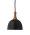 Topp Pendant - / Metal & wood - Ø 17.6 cm by Frandsen