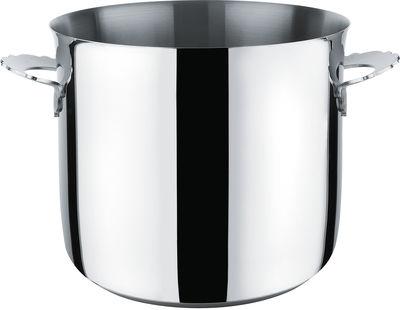 Cucina - Pentole, Padelle e Casseruole - Pentola Dressed - Ø 24 cm di Alessi - Ø 24 cm / Metallo brillante - Acciaio inox 18/10