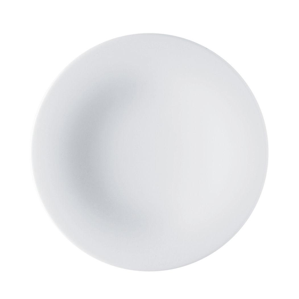 Tavola - Piatti  - Piatto da dessert Ku di Alessi - Bianco - Porcellana