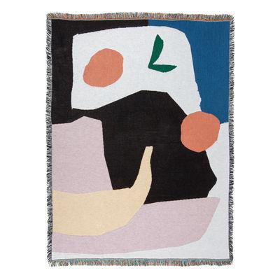 Outdoor - Pranzo all'aperto - Plaid Mooney - / By Daniel Fletcher - 137 x 178 cm di Slowdown Studio - Daniel Fletcher - Cotone riciclato