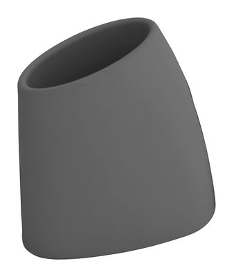 Pot de fleurs Tao M H 60 cm - MyYour gris en verre/matière plastique