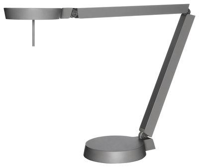 Lighting - Table Lamps - Claesson Koivisto Rune w081t2 Table lamp - LED - 2 articulated arms by Wästberg - Grey - Cast aluminium, Extruded aluminium, Plastic