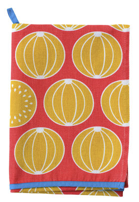 Torchon Melons / 50 x 70 cm - Fermob capucine en tissu