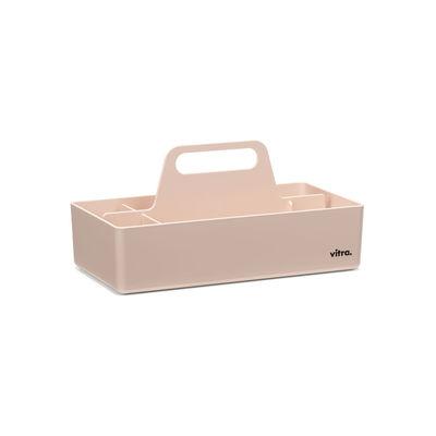 Image of Vaschetta portaoggetti Toolbox - / Scompartimentato - 32 x 16 cm di Vitra - Rosa - Materiale plastico