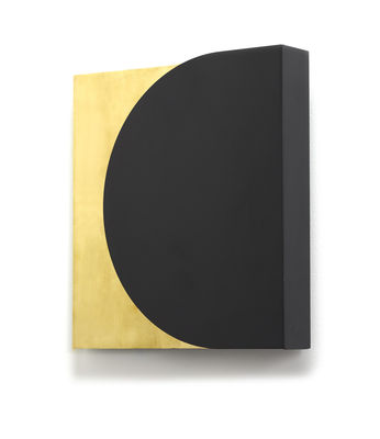 Applique Essentials n°5 / Métal - 30 x 30 cm - Serax noir,laiton en métal