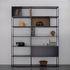 Easy Irony Bücherregal / mit Schrankelementen - L 178 cm x H 226 cm - Zeus