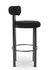 Chaise de bar Fat / Velours - H 75 cm - Tom Dixon