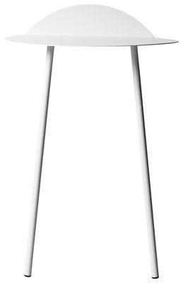 Arredamento - Console - Console: Yeh Wall - / H 83 cm di Menu - Bianco - Acciaio laccato