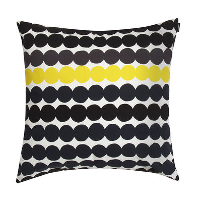 Cuscini Marimekko.Cuscino Rasymatto Di Marimekko Bianco Giallo Nero Made In Design