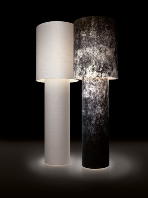 Floor Lamp Pipe By Diesel With Foscarini Black Made In
