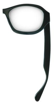 Déco - Accessoires bureau - Loupe Lunette / Pour droitier - Maison Martin Margiela - Noir/ Transparent - Plastique, Verre