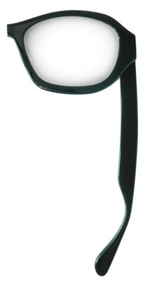Decoration - Office - Lunette Reading glass - right handed by Maison Martin Margiela by Maison Martin Margiela - Black/ Transparent - Glass, Plastic