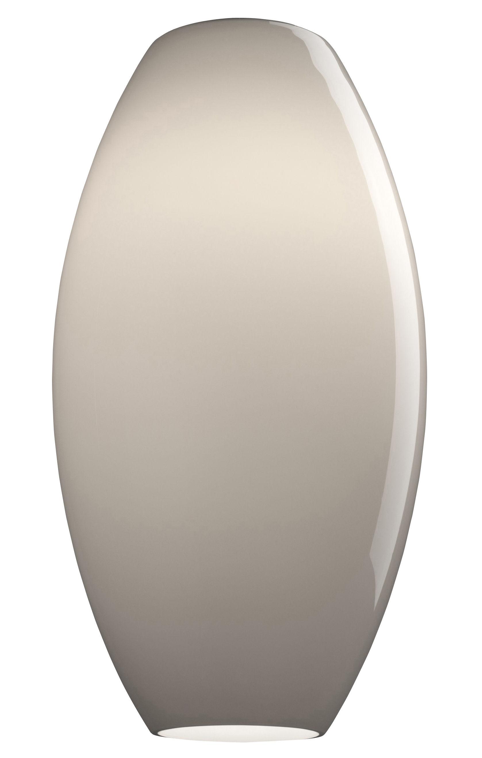 Luminaire - Suspensions - Suspension New Buds 1 / Verre artisanal - Ø 26 x H 49 cm - Foscarini - Gris - Verre soufflé