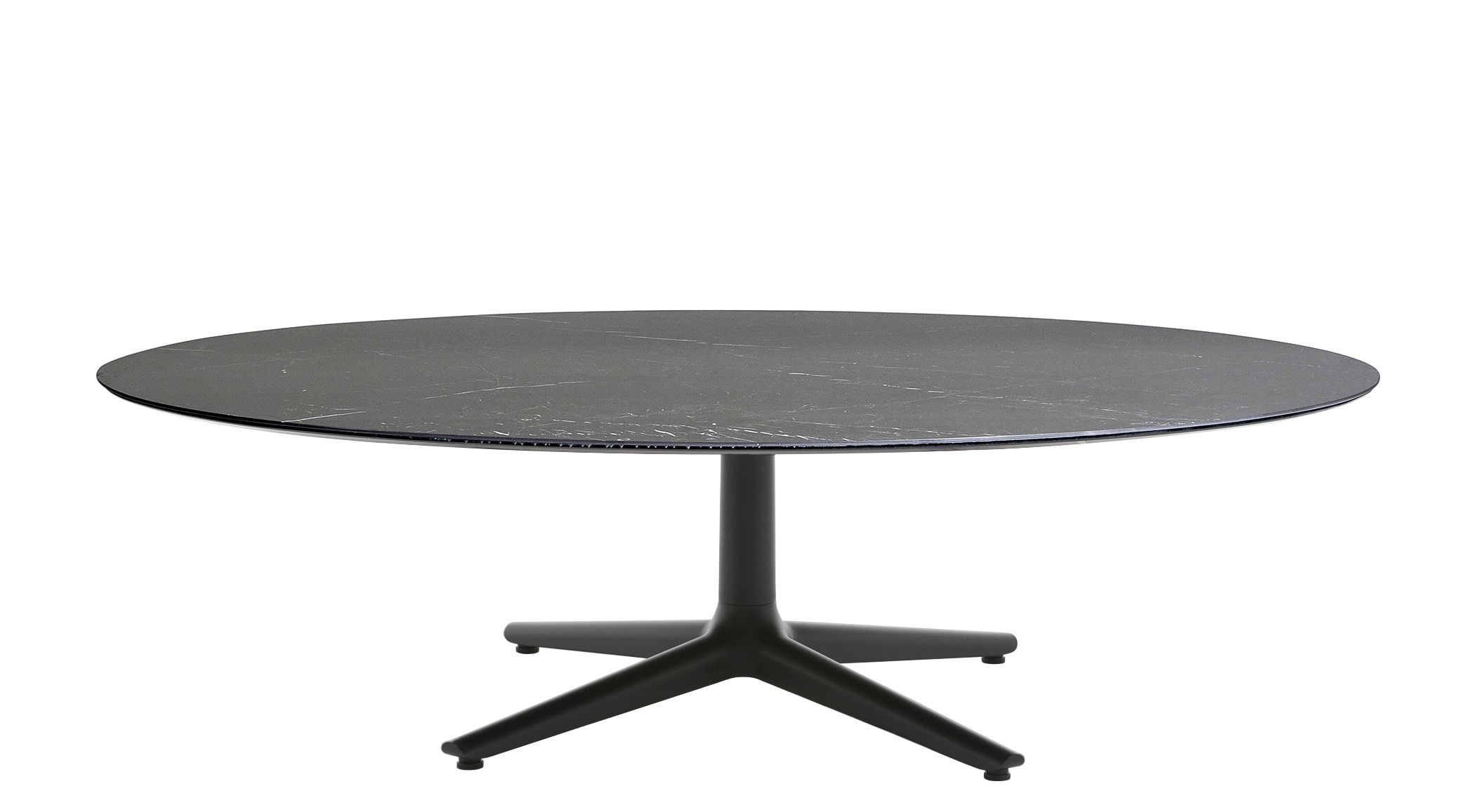 table basse multiplo indoor outdoor effet marbre 118 cm noir kartell. Black Bedroom Furniture Sets. Home Design Ideas