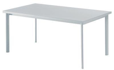 Table Star / 90 x 160 cm - Emu aluminium brillant en métal