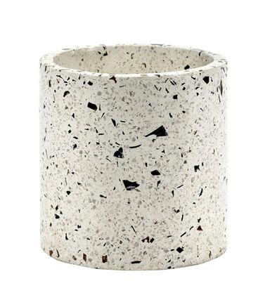 Outdoor - Vasi e Piante - Vaso Terrazzo - / Ø 18 cm di Serax - Terrazzo bianco - Terrazzo