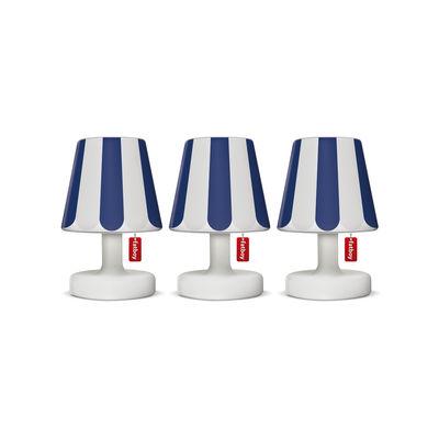 Abat-jour Mini Cappie / Set de 3 - Pour lampes Edison the Mini - Fatboy bleu en matière plastique