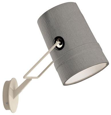 Applique Fork - Diesel with Foscarini gris,ivoire en métal