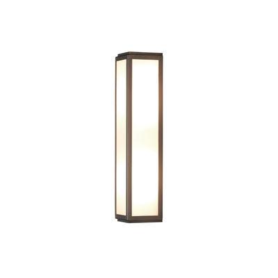 Illuminazione - Lampade da parete - Applique Mashiko LED - / L 35 cm - Policarbonato di Astro Lighting - Bronzo - Acciaio inossidabile, policarbonato