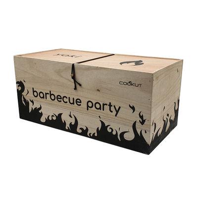 Outdoor - Barbecue - Barbecue da tavola a carbone Yaki Premium - / Piastra & raclette + accessori di Cookut - Nero - Metallo