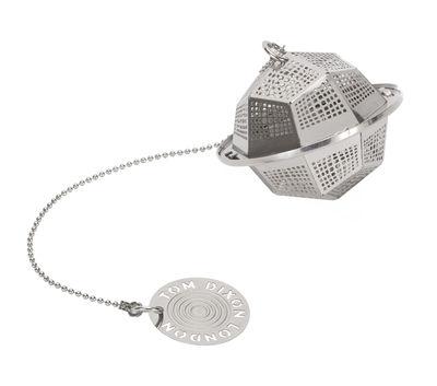 Boule à thé Etch / The clipper Poly - Tom Dixon argent/métal en métal