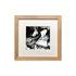 Cadre 22 x 22 cm  / Chêne brut & verre acrylique - Image Republic