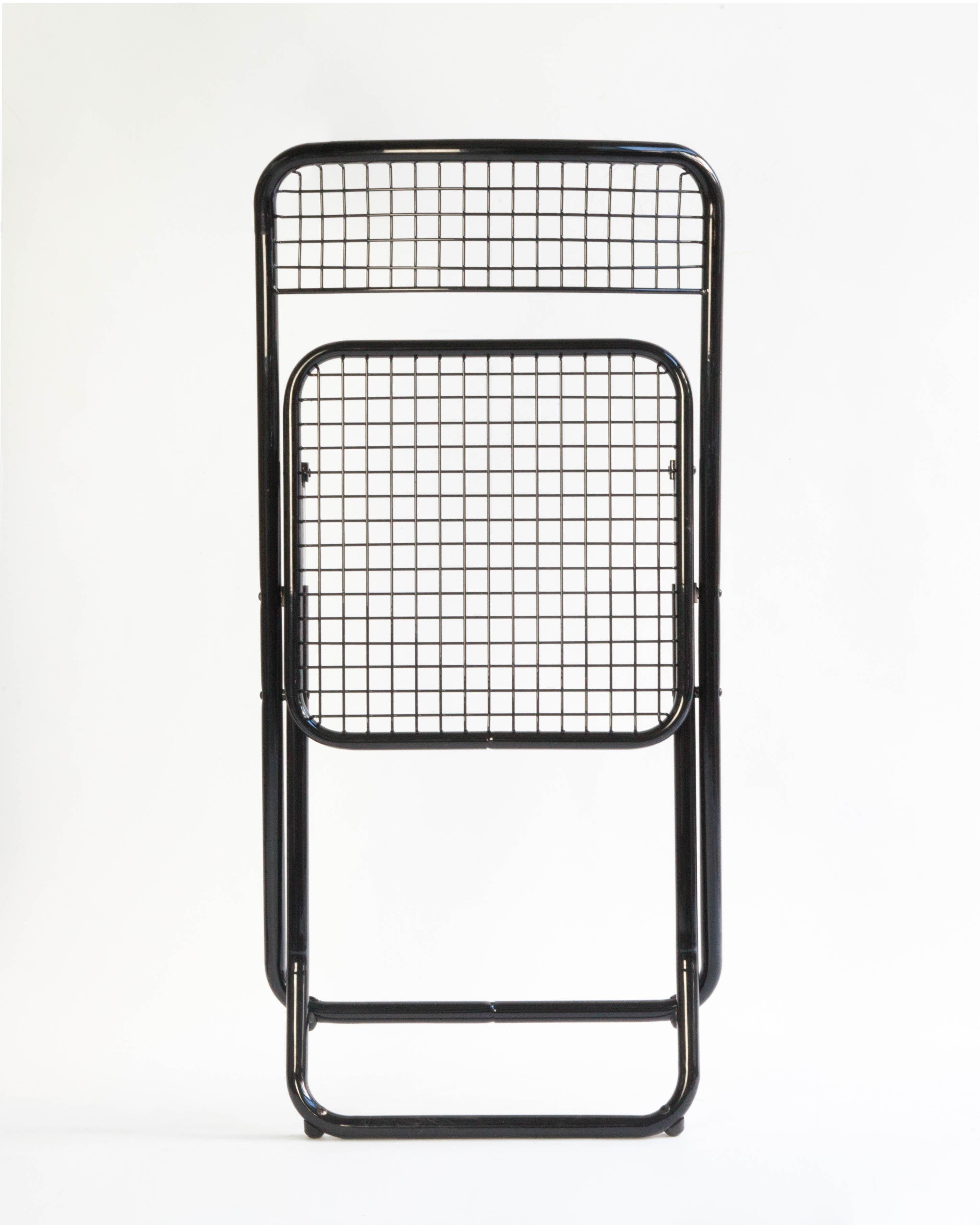 Pliante Chaise Métal 085 Grillagé Houtique qVzpUSM