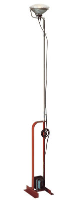 Lighting - Floor lamps - Toio Floor lamp by Flos - Red - Metal