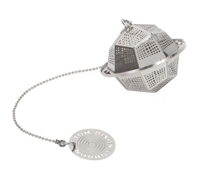 Tableware - Tea & Coffee Accessories - Etch / The clipper Poly Infuser by Tom Dixon - Poly / Steel - Stainless steel