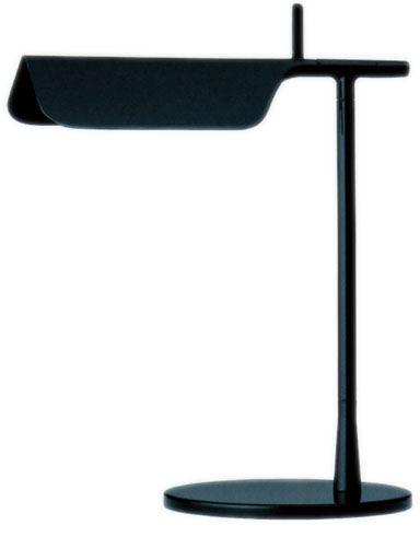 Illuminazione - Lampade da tavolo - Lampada da tavolo Tab T LED di Flos - Nero - Alluminio, PMMA
