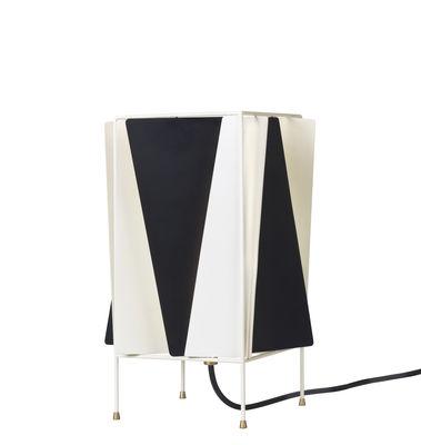 Lampe de table B-4 / Orientable - Réédition de 1945 - Gubi blanc,noir en métal