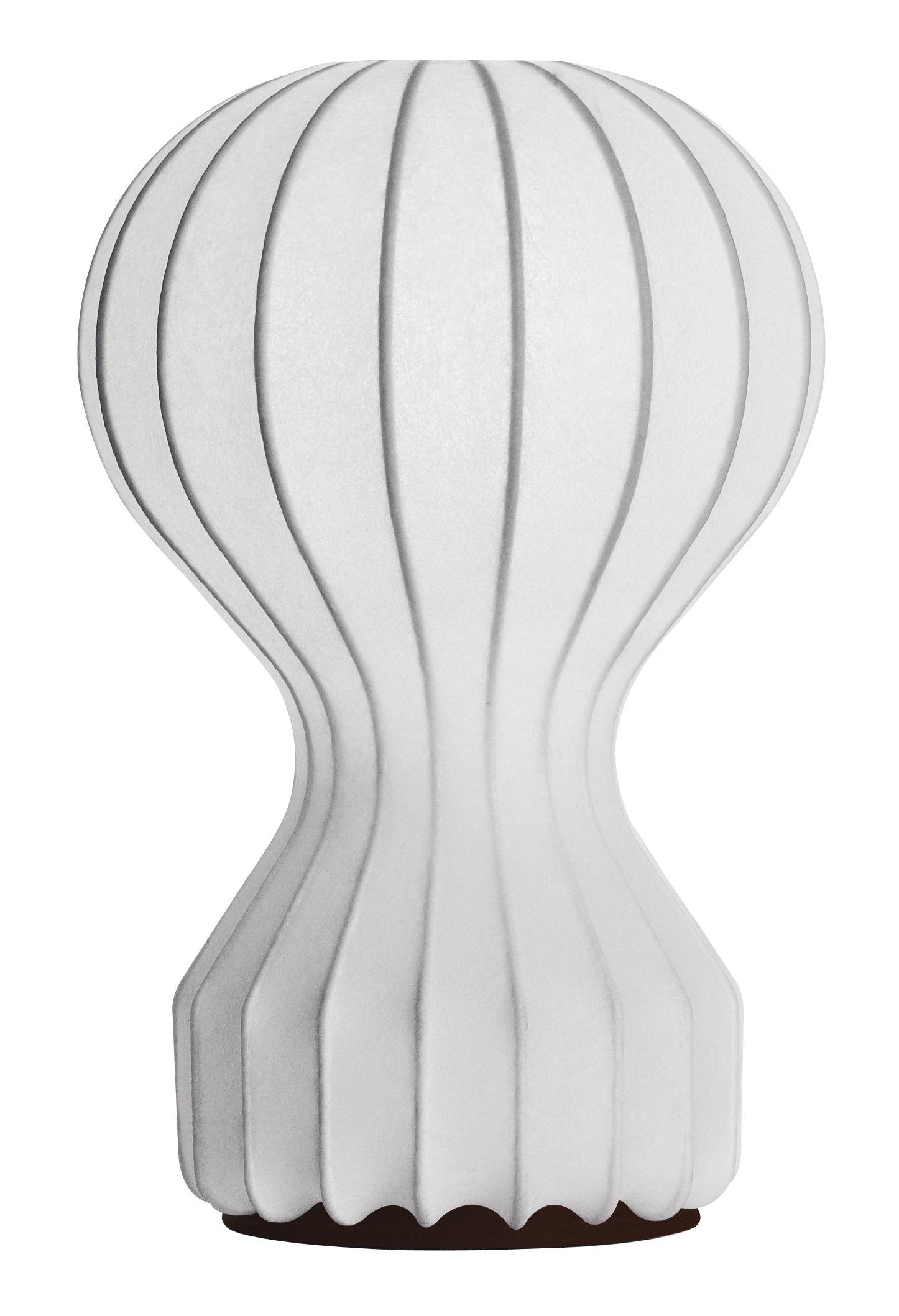 Luminaire - Lampes de table - Lampe de table Gatto Piccolo - Flos - Cocoon - Acier, Résine