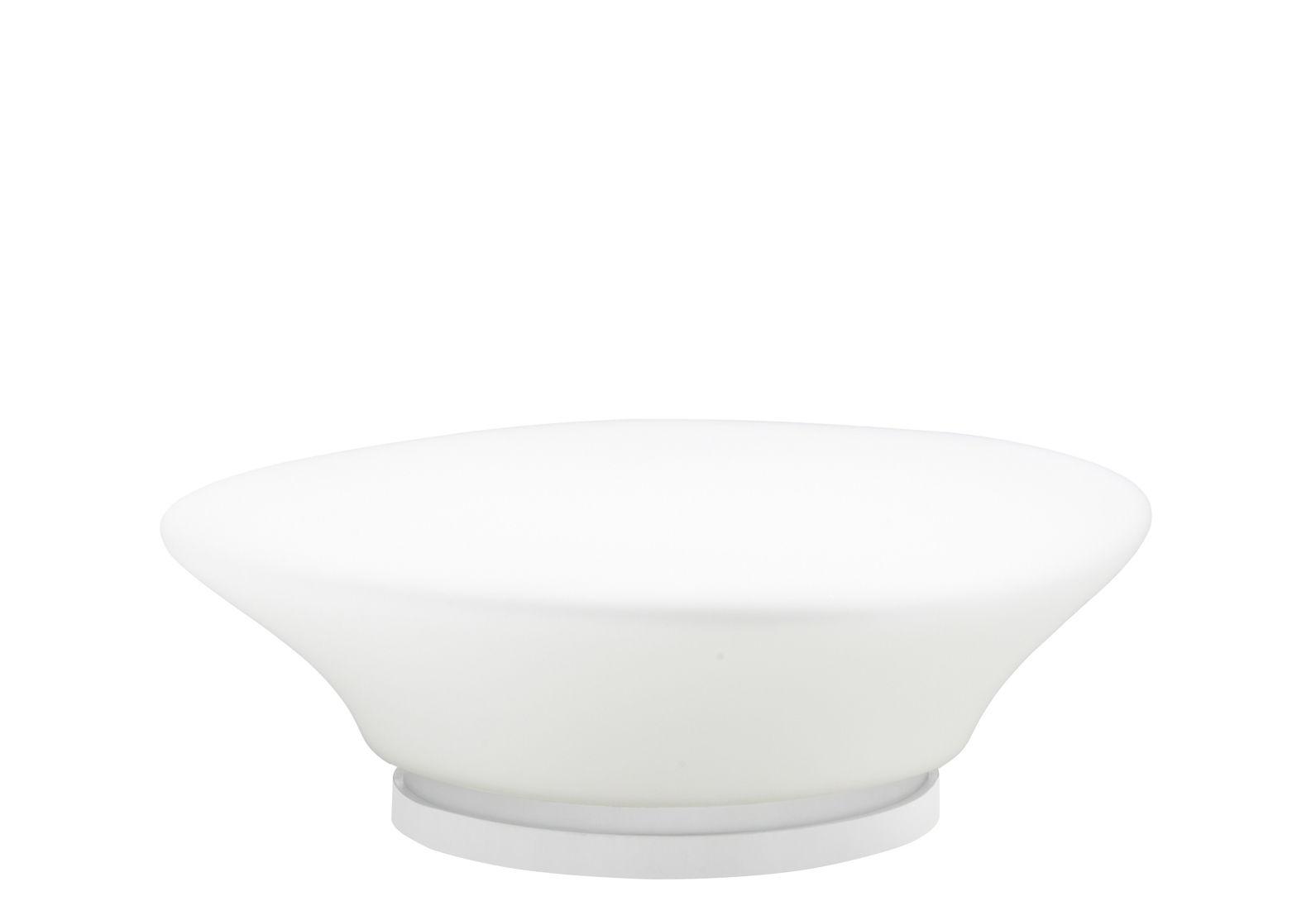 Luminaire - Lampes de table - Lampe de table Mycena Ø 38 cm - Fabbian - Blanc - Ø 38 cm - Verre