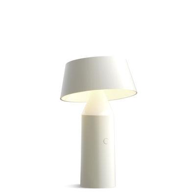 lampe ohne kabel bicoca von marset wei made in design. Black Bedroom Furniture Sets. Home Design Ideas
