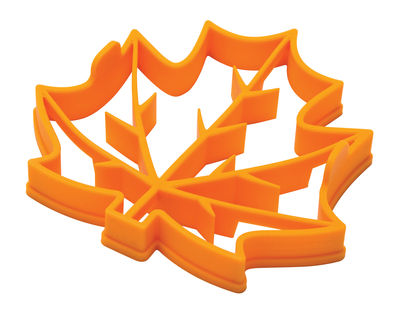 Moule à pancake Leaves pancake / Œuf au plat - Silicone - Pa Design jaune en matière plastique