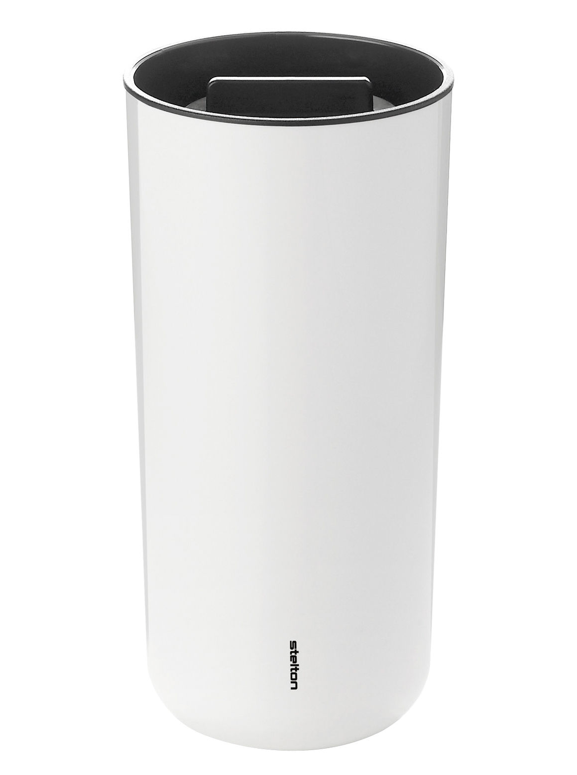 Arts de la table - Tasses et mugs - Mug isotherme To Go 2.0 / Couvercle - 40 cl - Stelton - Blanc - Plastique ABS