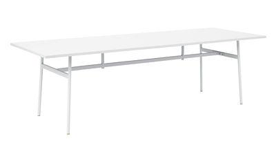 Union Schreibtisch / 250 x 90 cm - Fenix-Laminat - Normann Copenhagen - Weiß