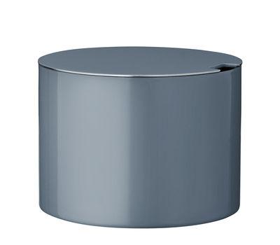 Sucrier Cylinda-Line / Arne Jacobsen, 1967 - Stelton bleu océan en métal
