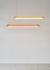 Suspension Aura Light / Bio-résine - L 110 cm - Established & Sons